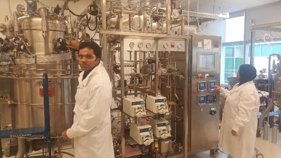 Kalion fermentation project